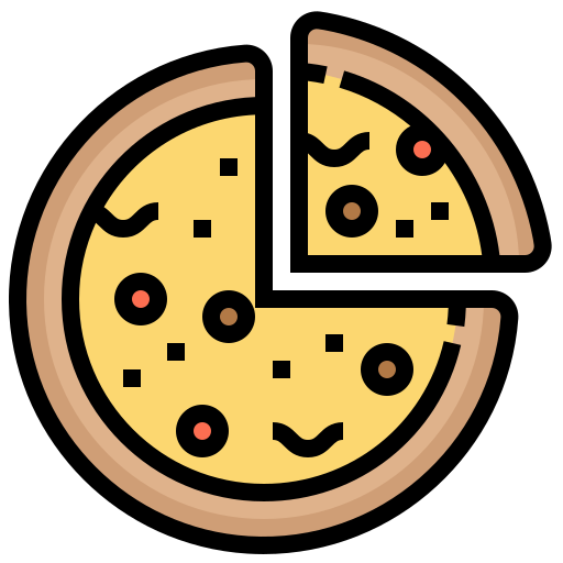 Bake, Bread, Fast, Food, Pizza Icon Free Of Street Food