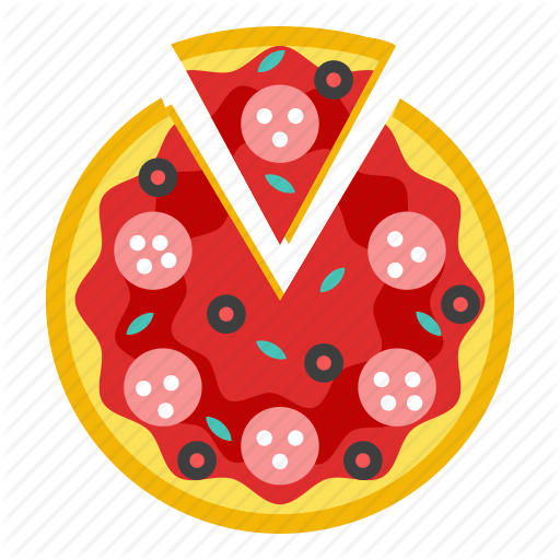 Food, Italian Food, Pie, Pizza Icon