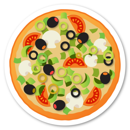 Cropped Prize Icon Pizza