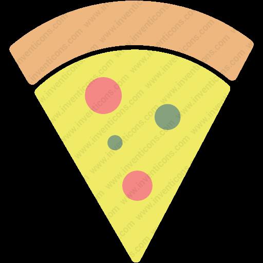 Download Pizza Slice,pepperoni,pizza,pizza Slice,snack Icon