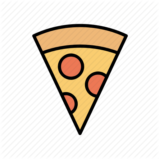 Fast Food, Pizza, Slice, Slice Of Pizza Icon