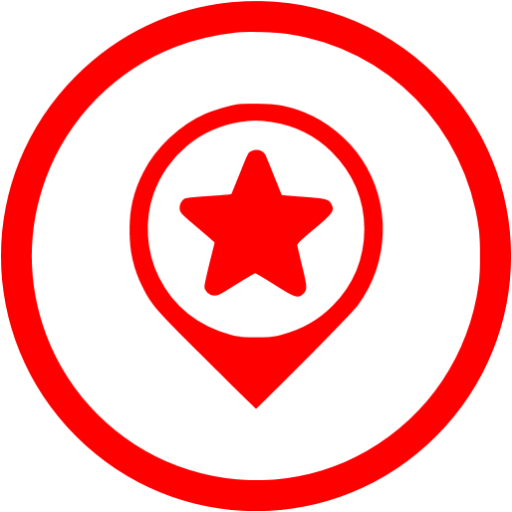 Red Google Place Optimization Icon
