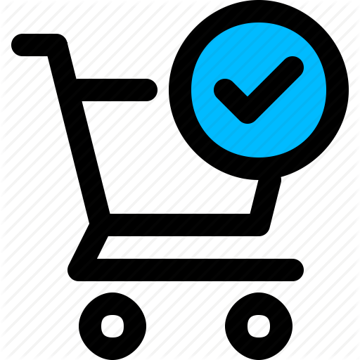 Complete, Order, Place, Shopping, Success, Tick Icon