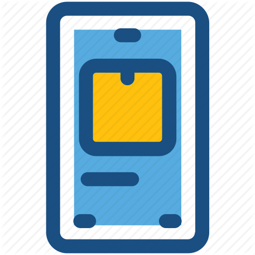 Mobile, Parcel Tracking, Place Order, Smartphone, Trace Parcel Icon