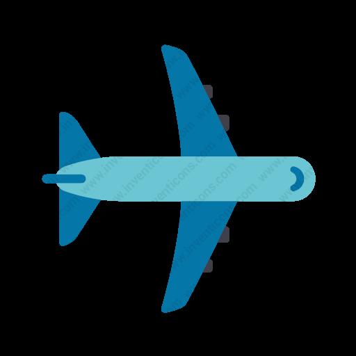 Download Plane Icon Inventicons