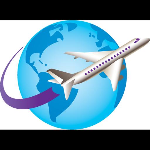 Plane Travel Flight Tourism Travel Icon Png