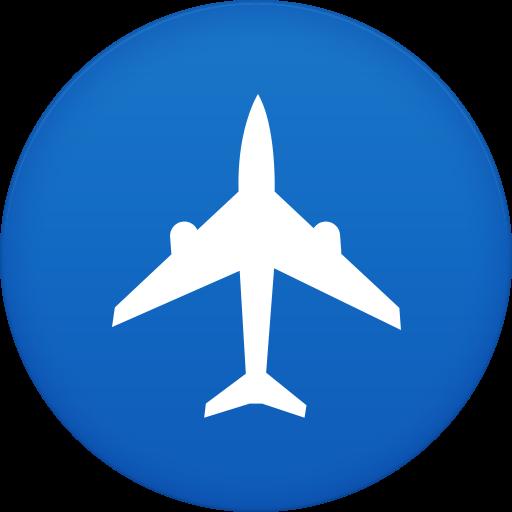 Flight, Airplane, Plane Icon Free Of Circle Addon Icons