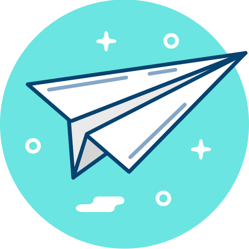 Paper, Plane Icon Free Of Free Sparkly Icons