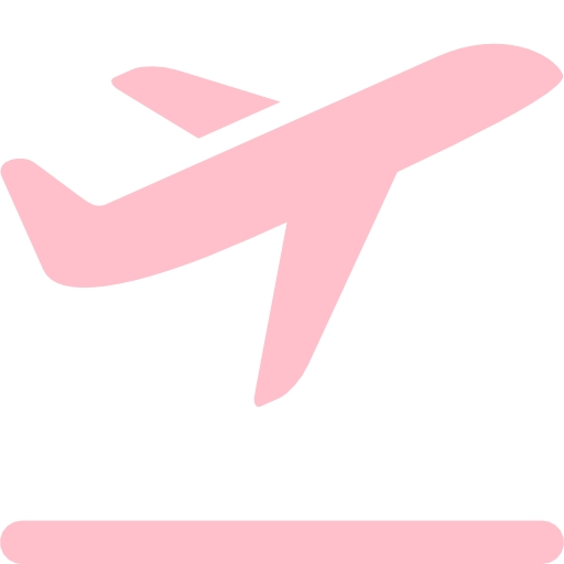 Pink Plane Clipart Collection