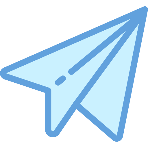 Paper Plane Message Png Icon