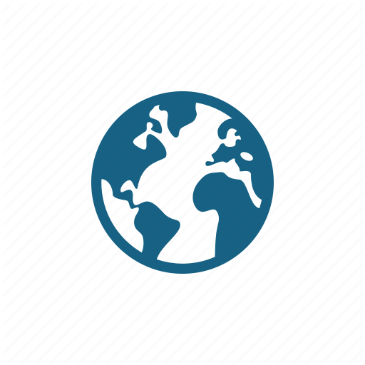 Continent, Earth, Globe, Planet, Planet Earth Icon