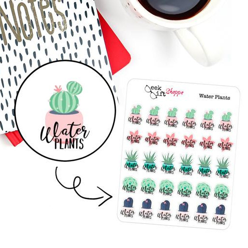 Household Planner Stickers For An Organized Home
