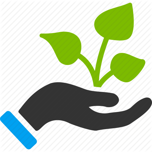 Agriculture Business Start Farm Farming Idea Plant Startup Icon