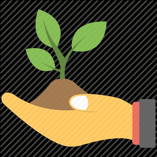 Baby Plant, Hand, Mini Plant, Plant Baby, Soil Icon