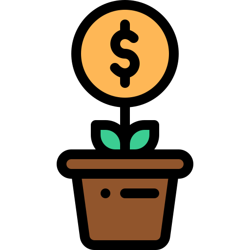 Business, Money, Plant, Plant Icon Free Of Banking Vol