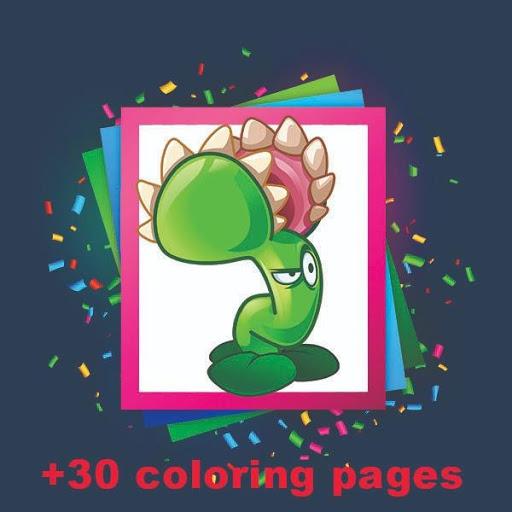 Plants Vs Zombies Coloring Book Apk