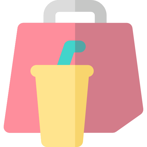 Food, Bag, Delivery, Restaurant, Take Away, Food And Restaurant Icon