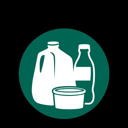 Plastic Milk Jugs, Recycling, Kitchen, Plastics, Plastic Bottles Icon