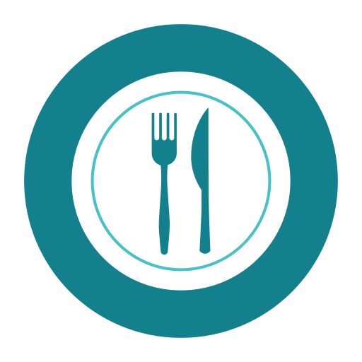 Cutlery, Citycons, Hotel, Plate Icon