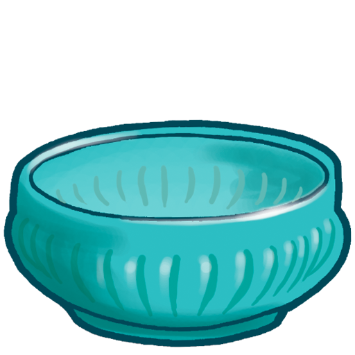 Ribbed Plate Icon
