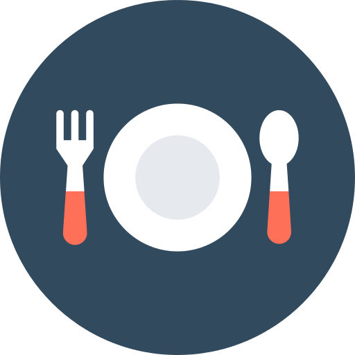 Restaurant Plate Png Icon