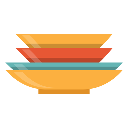 Stack Of Plates Icon