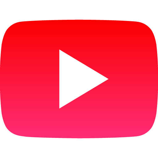 Free Youtube Play Button Red Social Media Icon Download