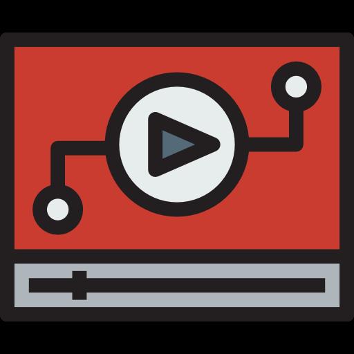 Multimedia, Play Button, Multimedia Option Icon
