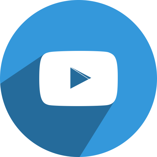 Blue Youtube Button Logo Png Images