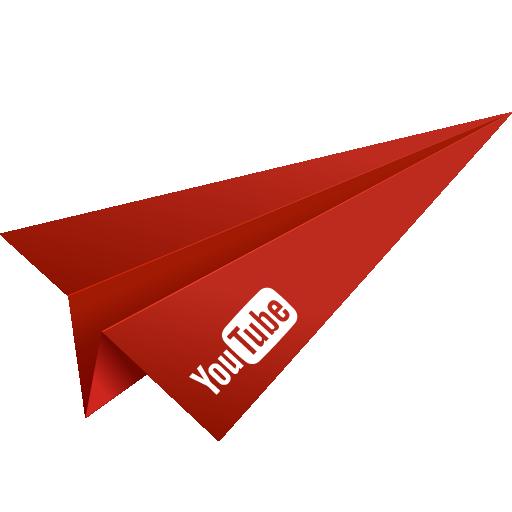 Youtube Plane Icon