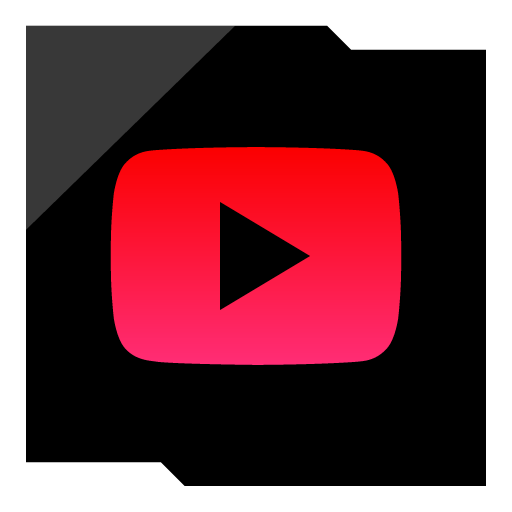 Youtube Play Button Epic Red Social Media Icon