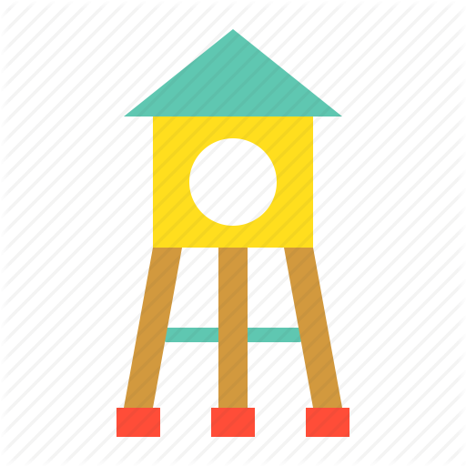 Outdoors, Play, Play House, Playground, Playground Equipment Icon