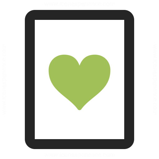 Playing Card Hearts Icon Iconexperience
