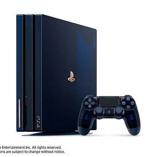 Playstation Pro Million Limited Edition Console