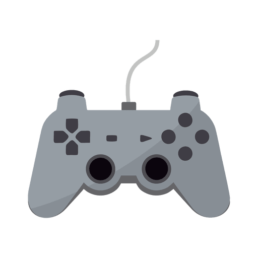 Flat Gaming Controller Icon