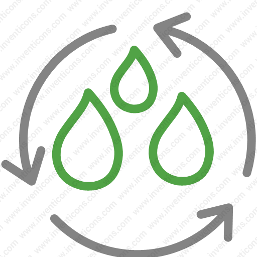 Download Water,recycle,environment,reuse,sustainable,trash Icon