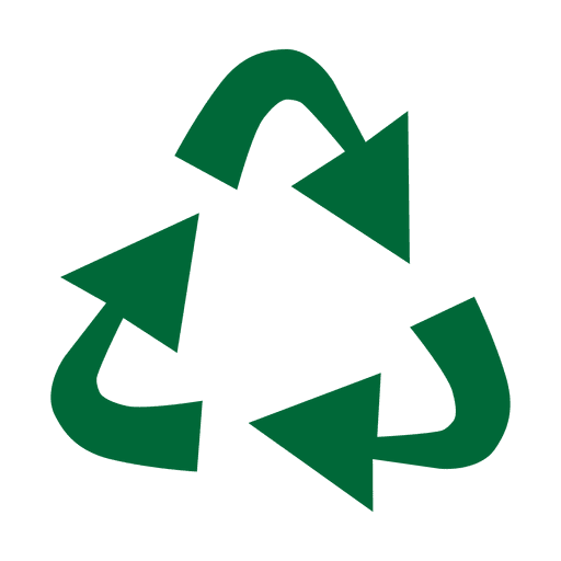 Recycling Symbol Triangle