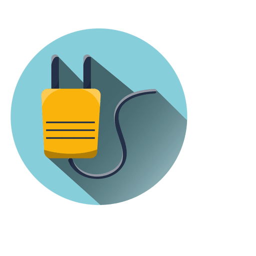 Plug Round Icon