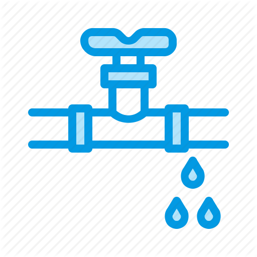 Leak, Pipe, Plumbing, Valve, Water Icon