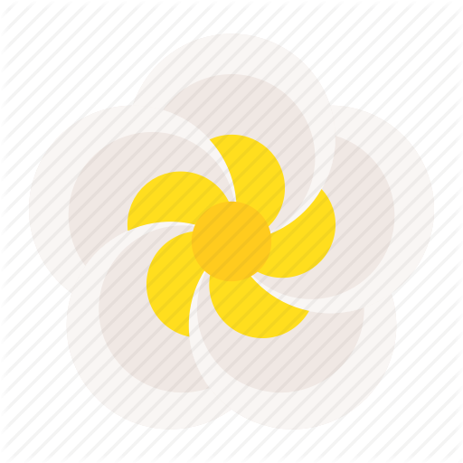 Flora, Floral, Flower, Plumeria, Spa Icon