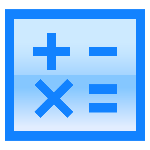 Calculator, Equal, Multiplication, Plus, Math, Minus Icon