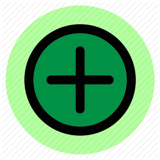 Add, Circle, Plus, Round, User Interface, Web Icon
