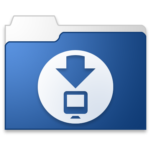 Downloads Blue Png Icons Free Download