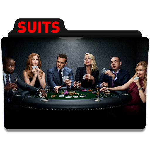 Suits Folder Icon Png +