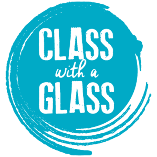 Cropped Class With A Glass