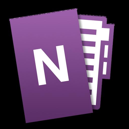 Onenote Icon Microsoft Office Mac Tilt Iconset