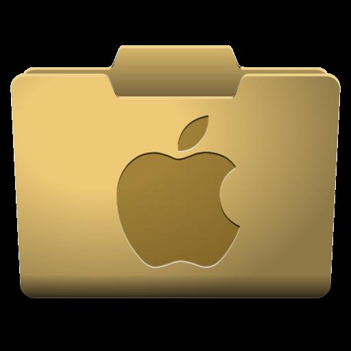 Yellow Mac Icon