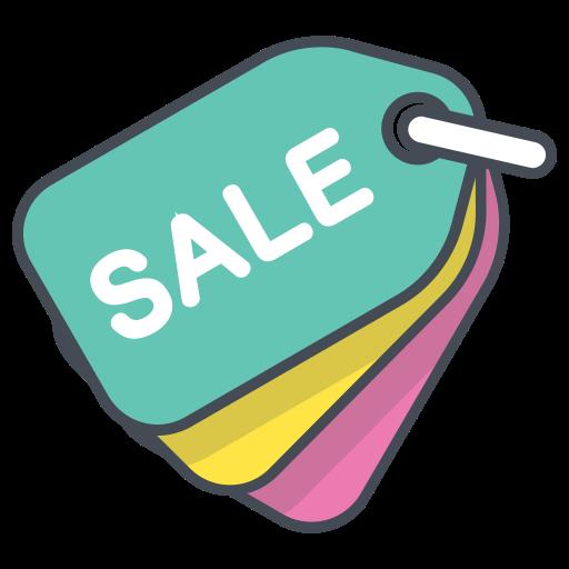 Sale, Purchase, Finance, Money, Shop, Online, Store Icon