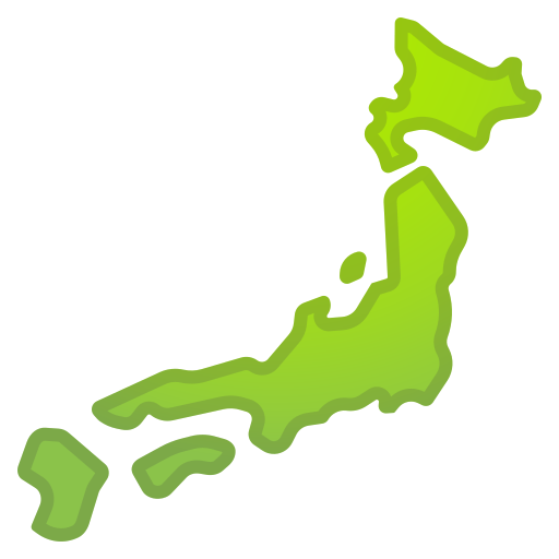 Map, Of, Japan Icon Free Of Noto Emoji Travel Places Icons