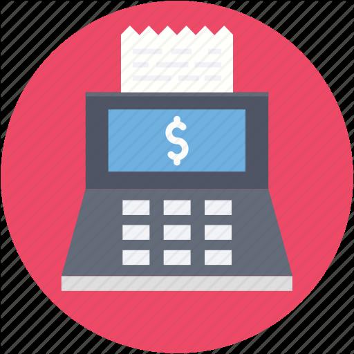 Cash Register, Cash Till, Invoice Machine, Point Of Sale, Pos